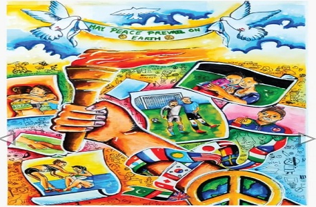 International Peace Pals Art Competition: Riya Jain of Bhopal selected