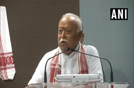 Mohan Bhagwat reaches Bhopal