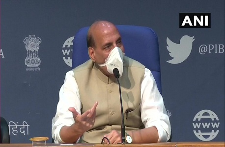 Defense Minister Rajnath Singh statement about uproar of Rajya Sabha opposition