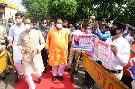 Former minister BJP senior leader Uma Shankar Gupta