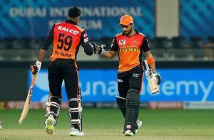 IPL 2020 MANISH AND VIJAY
