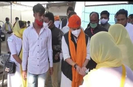 Jyotiraditya Scindia reached Bhopal