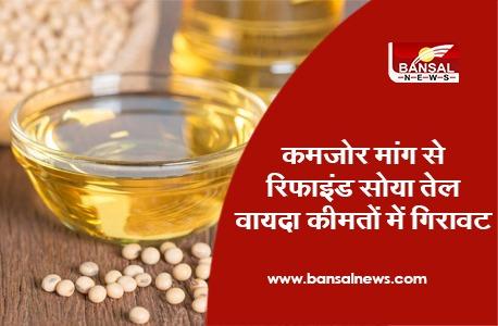 Refined Soya Oil Price