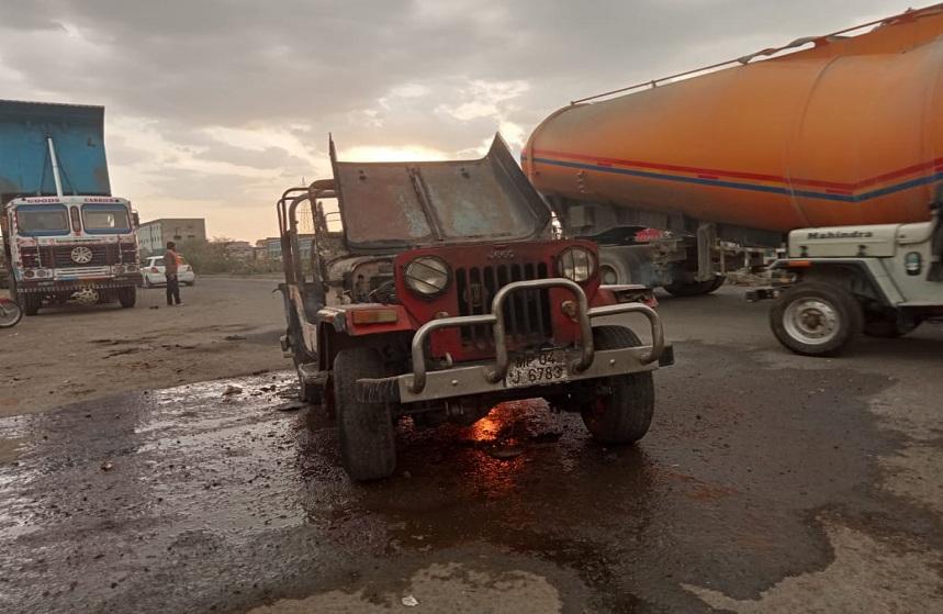 Bhopal Jeep Fire