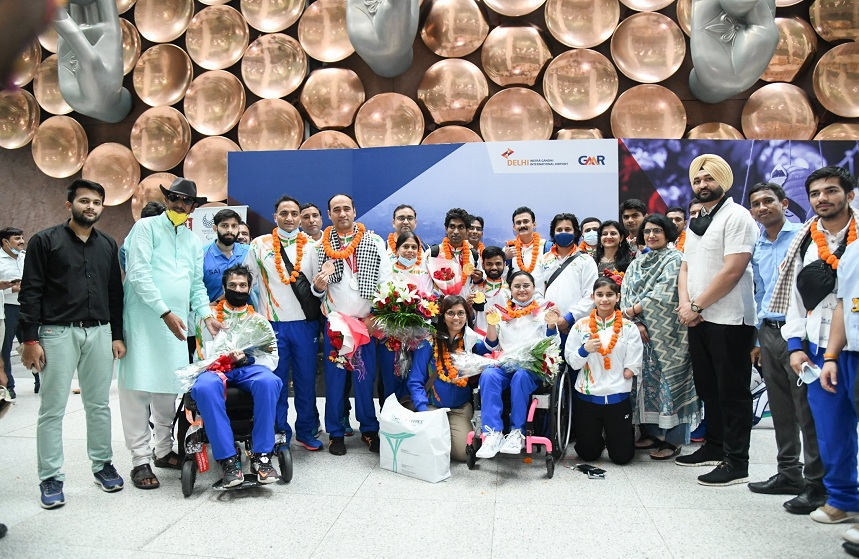 Tokyo Paralympic Team 2020